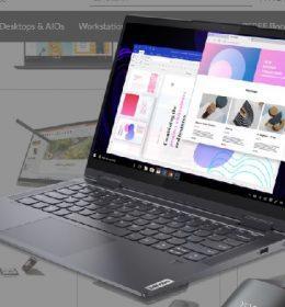 Lenovo Yoga 7 Grey Indonesia